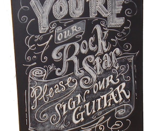 Chalkboard Stand for your Chalkboard Art for 11x14