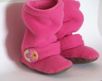 Children's Sewing Pattern Slouchy Boots - Approximately age- 24 months-5 years old
