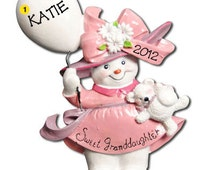 Personalized  Baby's First Christmas Ornament Sweet Grandson/ Granddaughter Boy / Girl- Newborn, Baby Shower Gift