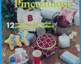 12 Quick Quilter's Pincushions Leaflet
