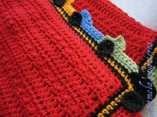 Crochet Hot Cars Blanket Pdf Pattern Cars Around The Border