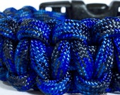Denim 550 Paracord Surviavl Bracelet - Dual Core