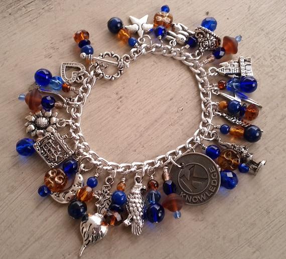 Luna's Ravenclaw Charm Bracelet