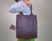 Dark Brown Leather Tote Bag - Hand Cut, Tooled and Stitched