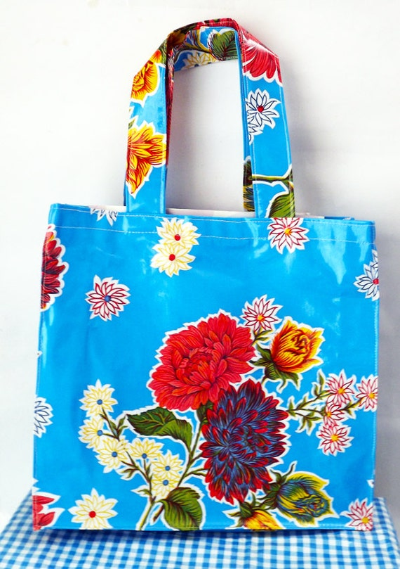 Free shipping. Mexican oilcloth bag