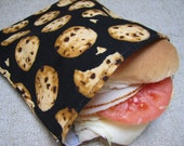 Reusable Sandwich Bag - Chocolate Chip Cookies