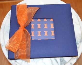 University of Illinois Pre-made Scrapbook