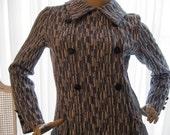 1960s Blue Vintage Dress by David Crystal Fashions free shipping