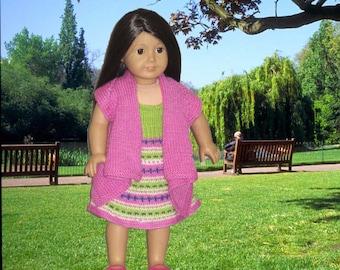 CASUAL KRISTIE  Doll Knitting pattern
