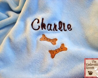 Personalized Pet Blanket-I Love My Biscuits