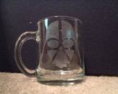 Darth Vader Death Star coffee tea Dark Side Mugs Glass Sith Jedi