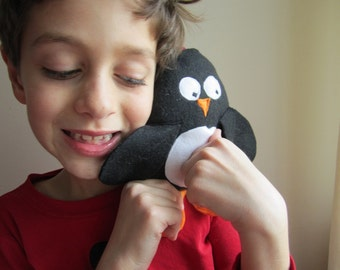 Penguin Tooth Fairy Pocket Pillow