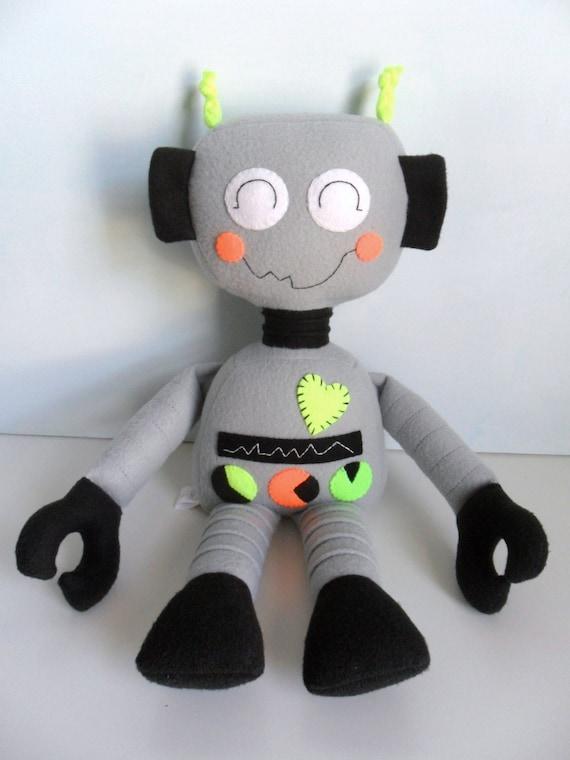 Kids Baby Amp Toddler Stuffed Toy Rag Doll Robot Boy