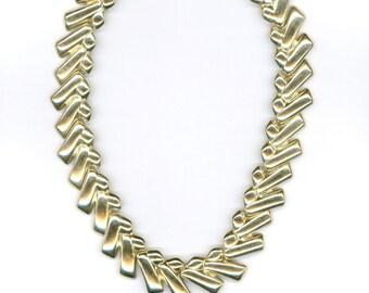 Vintage Gold Color Necklace
