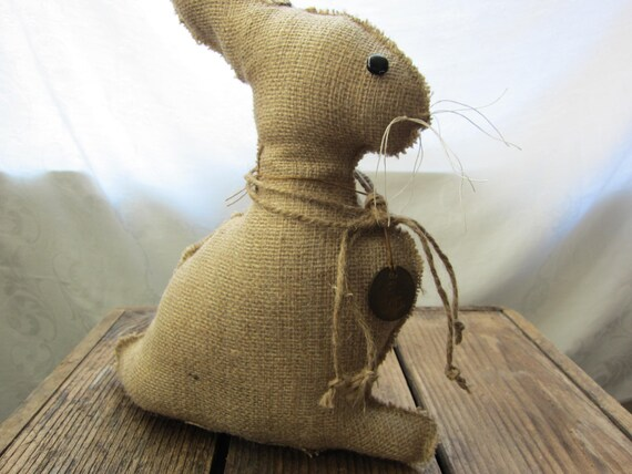 Bunny Burlap Easter
