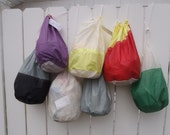 Large Recycled Sail Stuff Sack- Ditty Bag