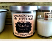 Vanilla Spice 8oz Wooden Wick Soy Candle