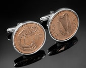 Copper Anniversary Gift for Men. 7 year copper wedding gift- Lucky Irish copper coin