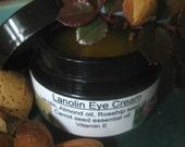 Lanolin eye cream, fine lines, under eye dark circles, moisturizer, eye care