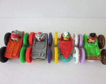 Tiny Toons Flip Cars - McDonald's Happy Meal Set