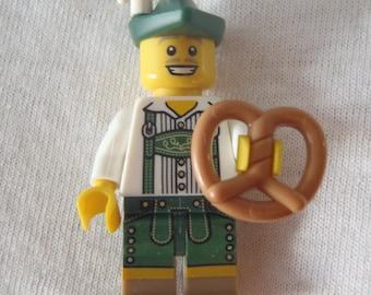 Custom German Necklace Made With Genuine LEGO® Bricks