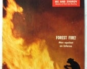 Vintage Colliers Magazine July 22 1955 Air Force Forest Fire