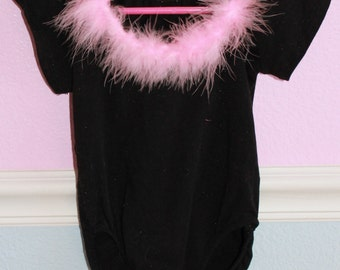 Leotard with Pink Poof