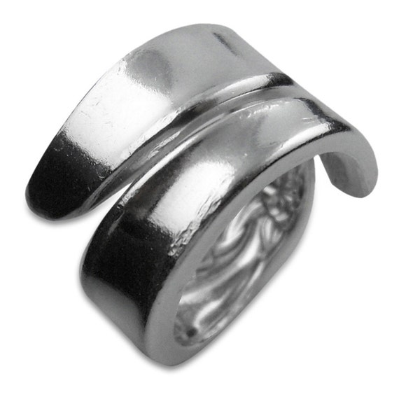 Antique Spoon Ring - Silver Wind