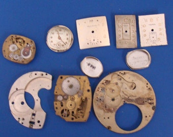 Parts For Steam Punk Projects (O)