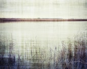 Still Waters Lake Photography Grey Blue Home Decor 10x8 Print Still Waters... - VictoriaEnglishCharm