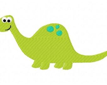 Dinosaur Dino 5x7 Machine Embroidery Design // Joyful Stitches