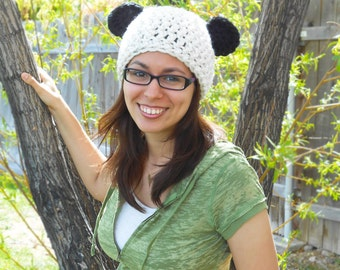 Panda Hat - Adult/Teen Size