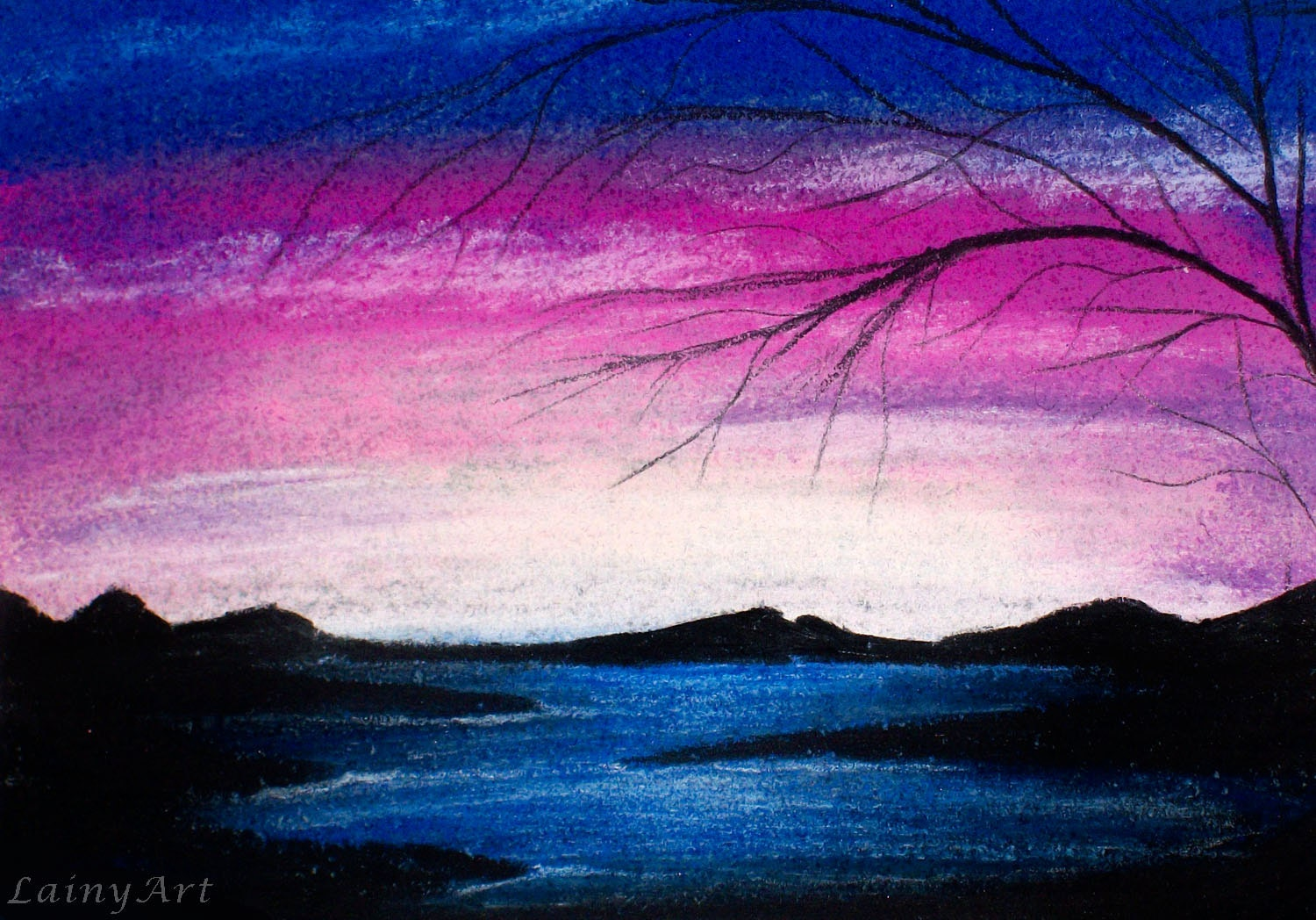 Sunset Drawing Oil Pastel at GetDrawings | Free download |Pastel Drawings Of Sunsets