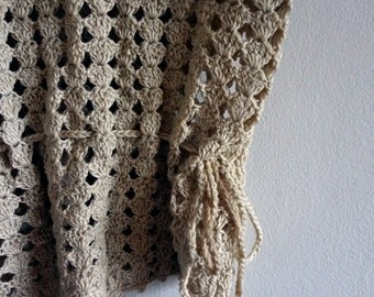 Crochet Knit BOHO Tank Top