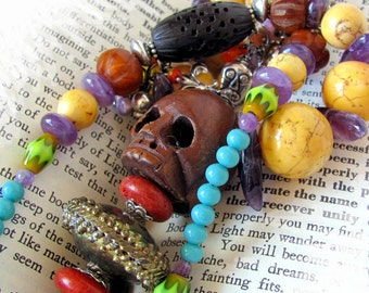 MARIE LAVEAU Queen of Voodoo unique jewelry unusual jewelry hoodoo vodou voodoo unique necklace