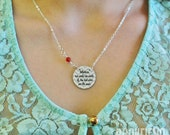 whatever our souls are made of enamel necklace, choose Swarovski accent