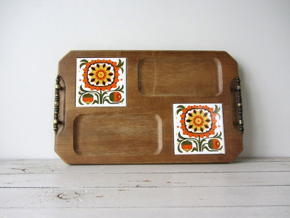 Vintage / Wood Cheese Tray