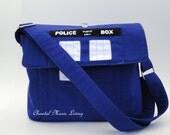 Doctor Who Tardis Messenger Bag - Police Call Box