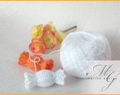 Pattern crochet - Candy - toy and accessory for jewelry
