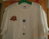 Golden Retriever tee shirt size L