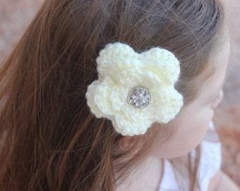 Kim's Flower Hair clip