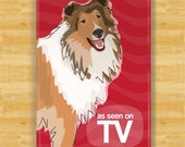 Collie Magnet - As Seen on TV - Sable Collie Gifts Dog Refrigerator Fridge Magnets