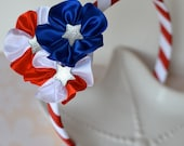 Patriotic American Flag Hard Headband- Stars and Stripes for July 4