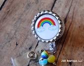 Rainbow Badge Retractable Reel