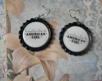 Everybody Loves an American Girl Earrings
