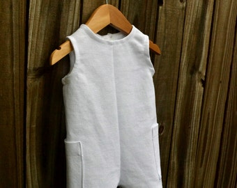 Darling Baby Boy Christening/Baptism Outfit - White or Ivory Waffle