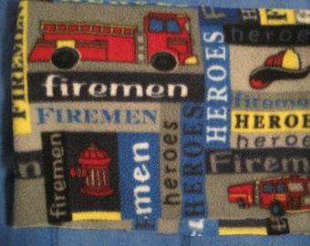 Firemen Fleece Scarf