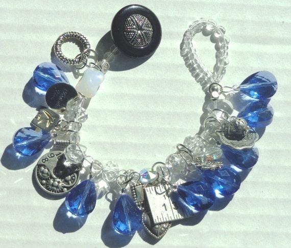 Blue Water Bracelet
