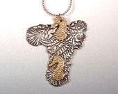 Sea Horse Pendant, Silver Sea Horse, Sea Horse Jewelry, Sea Horses