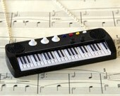 Keyboard Piano Necklace, Piano Jewellery, Music Gift